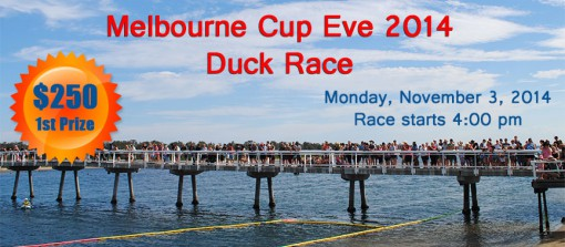 Melb Cup Duck Race