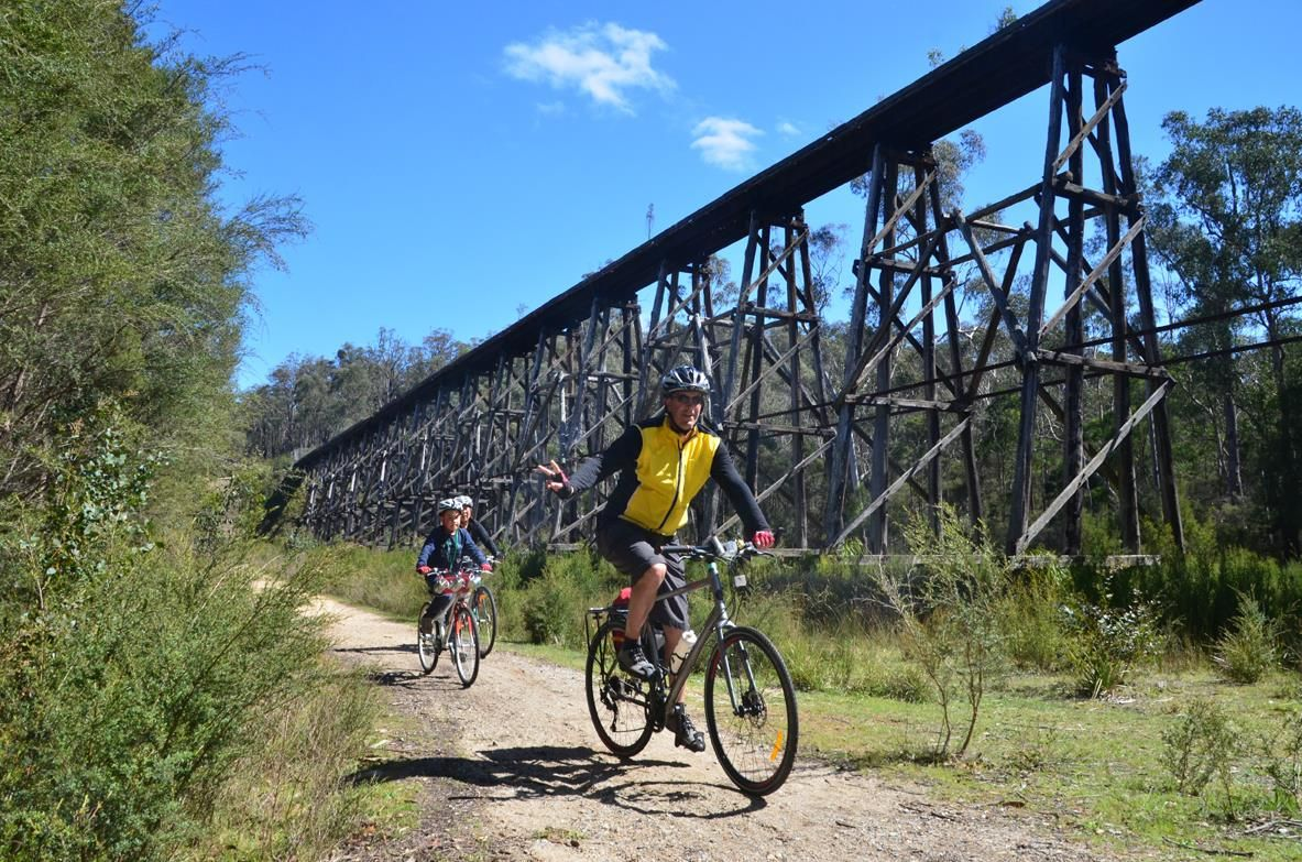 Family Rail Trail Tour