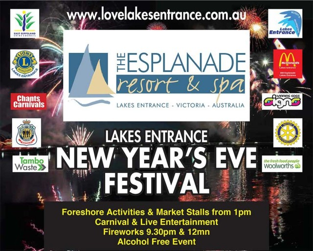 Lakes Entrance NYE